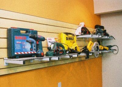 Produtos dispostos na loja